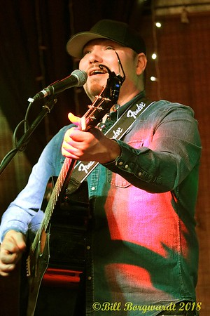 January 13, 2018 - Nathan Cunningham at Rednex in Morinville