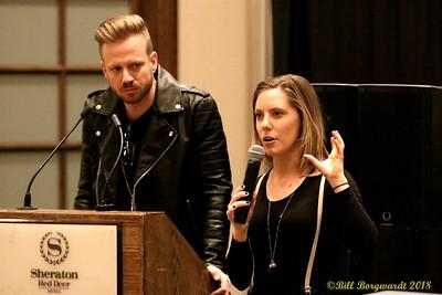 Brad Saunders & Carly Klassen - ACMA 2018 0114