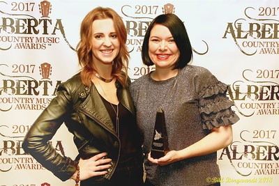 Samara Lastiwka & Natashia Mandrusiak - Calgary Stampede - Talent Buyer - ACMA 2018 0688