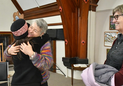 DSC_0343 hugging wynne patterson,,who has taken lessons from her