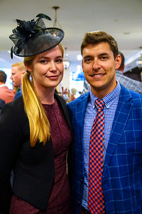 Friends in The Turf Club Present Their Derby Hats  The 144th Running Of The Kentucky Derby