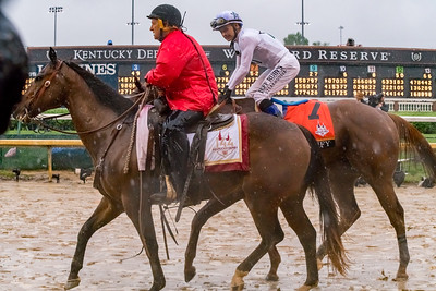 Winner Walk. Justify Wins The 144th Running Of The Kentucky Derby