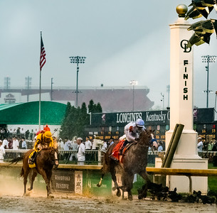 WInner! Justify Wins The 144th Running Of The Kentucky Derby