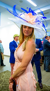 Ladies in The Turf Club Present Their Derby Hats  The 144th Running Of The Kentucky Derby