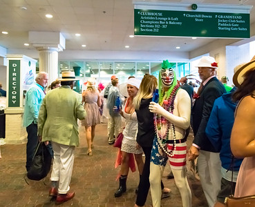 Interesting Hats and Costumes at The Kentucky Derby