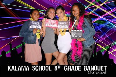 2018 Kalama 8th Grade Banquet