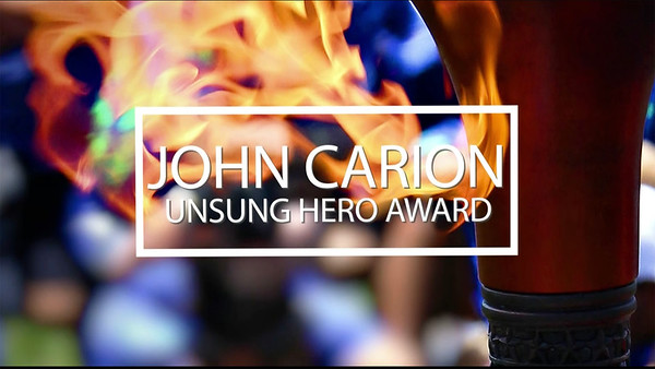 John Carion Unsung Hero Award Introduction