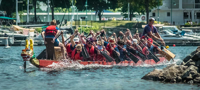 2018 Lake Champlain Dragon boat Festival