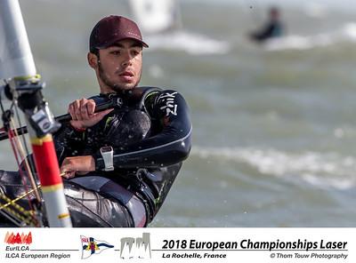 2018 European Championship Laser