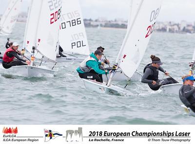 2018 European Laser Senior Championship- La Rochelle-France