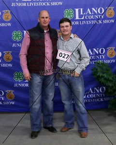 27-Mason Baker, Meat Goat, Middle Weight, Reserve Breed Champion
