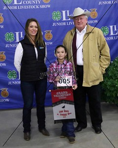 5-Peyton Smith, Tom Turkey, Grand Champion