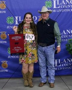 17-Remington Easley, Market Hog, Duroc, Breed Champion