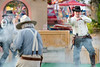 """Nevada Gunfighters perform a skit called """"Poker Game that Went Wrong."""""""