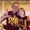 WATCHING THE LOYOLA-MICHIGAN FINAL FOUR GAME ... LOYOLA LOST, BUT WHAT A RUN FOR OUR LITTLE, CATHOLIC JESUIT BASICALLY COMMUTER COLLEGE!  SHADES OF '63 WHEN WE WON THE NCAA TITLE.