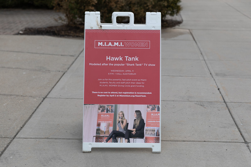 M.I.A.M.I. Women Hawk Tank