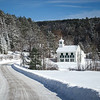 White church in Vermont