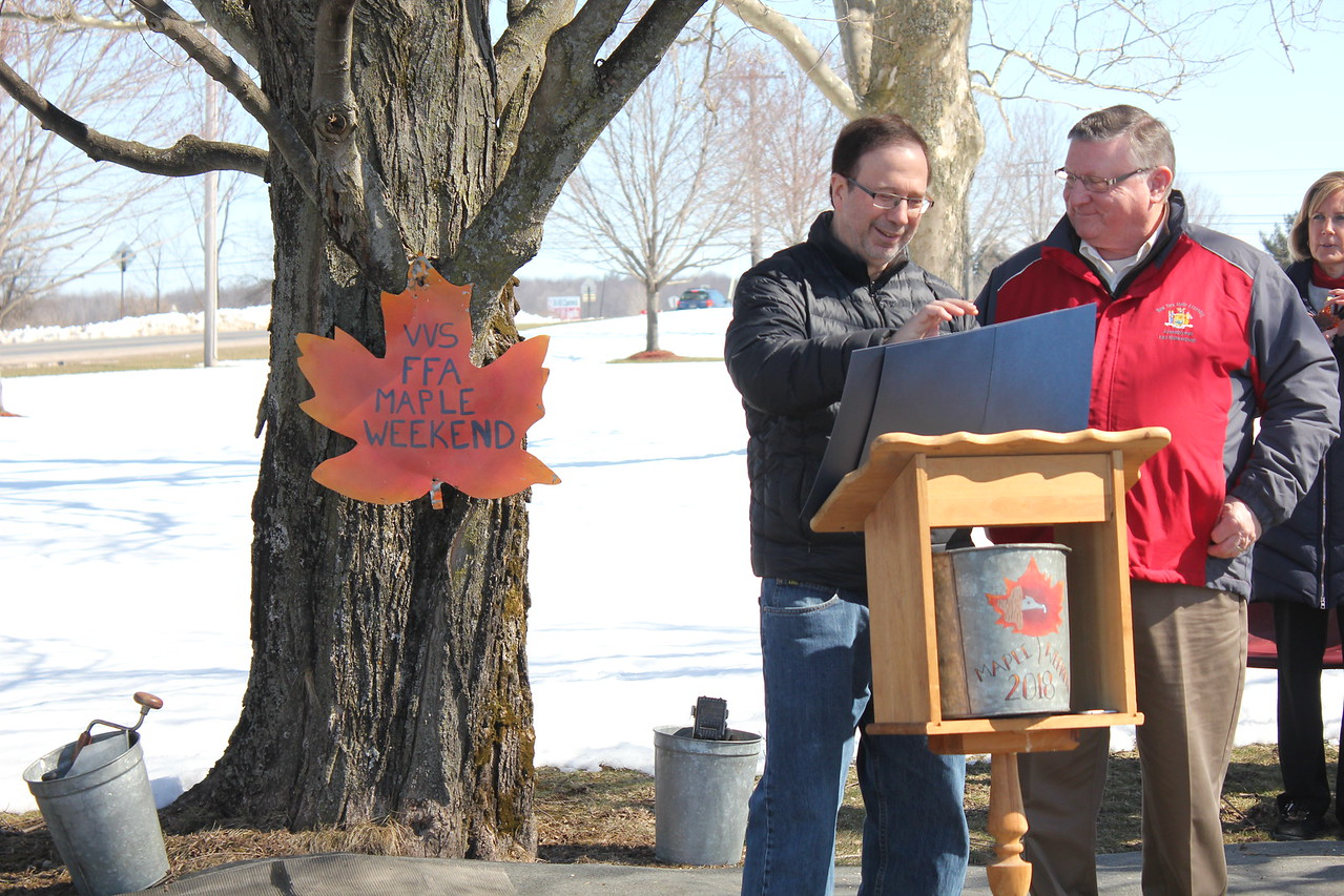 Charles Pritchard - Oneida Daily Dispatch Maple Weekend 2018
