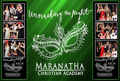 2018 Maranatha Christian Academy Prom