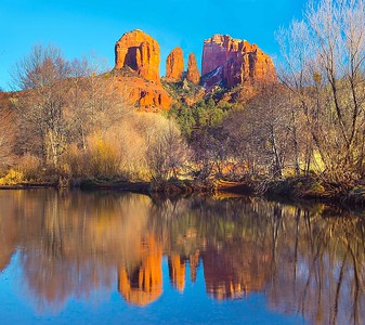DA058,DT,Cathederal Rocks,Sedona Arizona