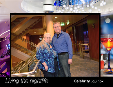 Lynn & Joe first night on the ship.