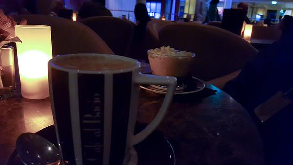 Cafe Al Bacio Caramel Macchiato and Espesso Carabico