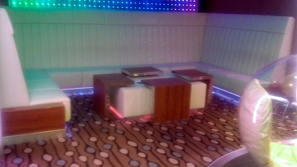 Quasar Lounge sitting area