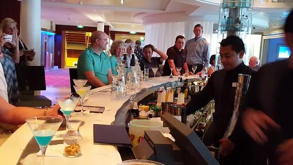Video  Fun at the Martini Bar