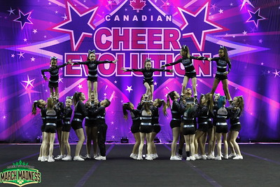 Black Widow Cheer Gym Cotton Candy Youth 1