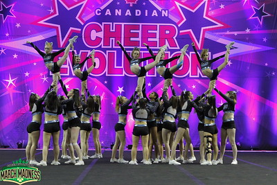 Black Widow Cheer Gym Freeze Senior 2