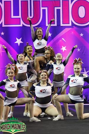 Kingston Elite All-Star Cheerleading Scarlet Sr Sm 1