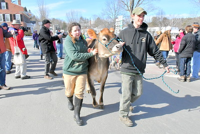 DSC_1096 emily surrell and Matt Deome, of Billings Farm, with Bisquick