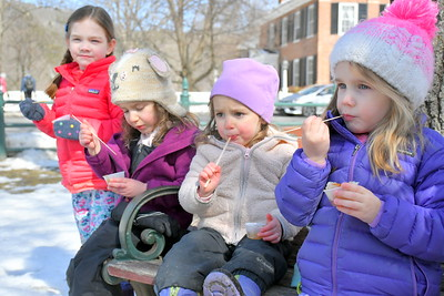 BEST_DSC_1270 sugar on snow,,,Caitlin Eames,5,,Josie Flaster,5,,Julia Flaster,3,,Hannah Eames,3,,,-Flasters from Plymouth, Eames from Woodstock