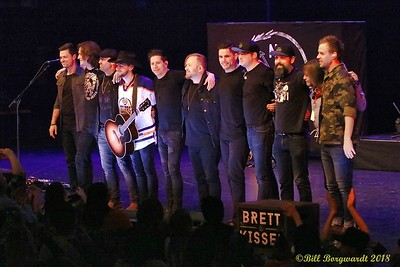 Band and Crew - Brett Kissell at Jube 601