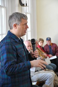 DSC_7613_Scott Woodward, Select Board member, speaks during the meeting