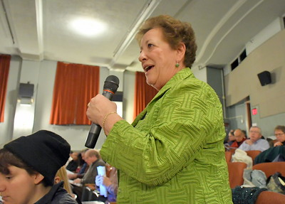 DSC_7216 mary rielly,,asks for votes for her run for select board
