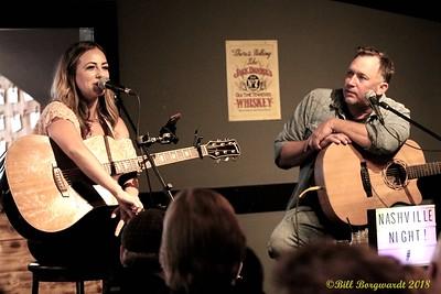 Mandy McMillan & Phillip White at Moonshiners 092