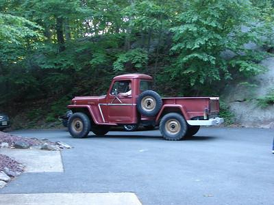 Corbett, Bruce & Aileen 1962 Jeep Willys