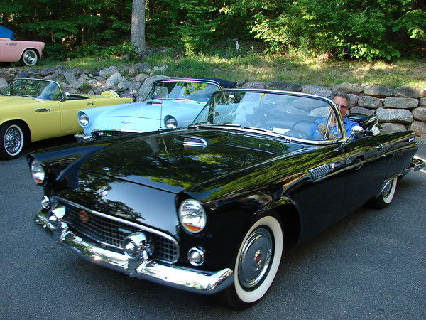 Adamoff, Paul & Sheryl 1955 T-Bird