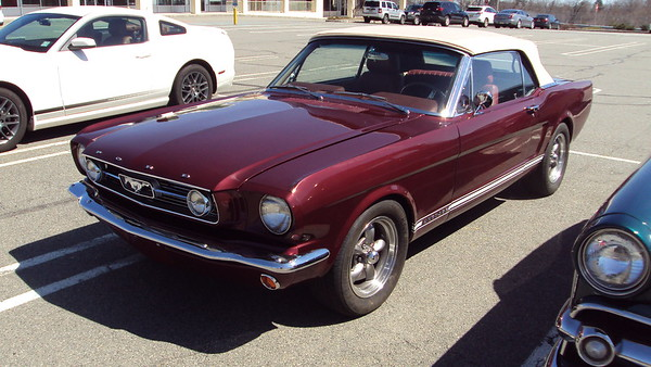 Costa, Charlie & Izabella 1966 Ford Mustang