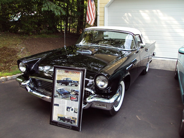 Guidone, Phil & Dorothy 1957 T-Bird