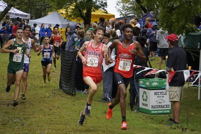 2018 Men's Cross Country at Chile Pepper Festival