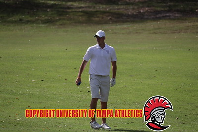 2/25/2018; Saint Leo, Fla.; University of Tampa men's golf at the SLU invitational.