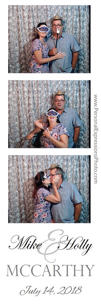 2018 - Mike and Holly McCarthy's Reception