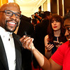"Boxing Legend  Floyd Mayweather, talks with Dawn Burkes, right of The Dallas Morning News on the red carpet at the Minnie's Food Pantry 10th Annual Feed Just One Gala on Tuesday evening, April 3, 2018, at the Omni Frisco Hotel in Frisco, Tx. Oprah Winfrey was the keynote speaker, with special guest  Floyd Mayweather, NFL Hall of Famer Emmitt Smith, Joel and Victoria Osteen, Actress Roma Downey and Mark Burnett, GRAMMY winner recording artists, Israel Houghton, and Donnie McClurkin. ET's Kevin Frazier was the emcee of the event. Minnie's Food Pantry's has distributed over 7 million meals to families in needs and is 100% community funded.  <a href=""http://www.minniesfoodpantry.org"">http://www.minniesfoodpantry.org</a>"