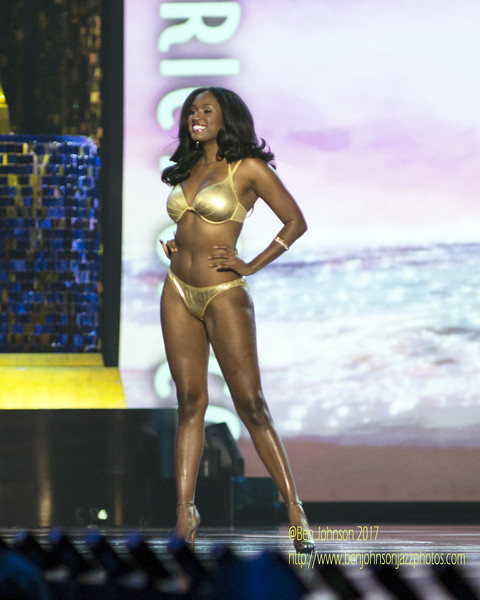The 2018 Miss American Contestants compete in day 2 of the preliminaries in Atlantic City