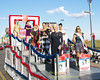 The 2018 Miss American Contestants Are Cheered By The Crowd As They Ride Down The Boardwalk In The Show Me Your Shoes Parade in Atlantic City