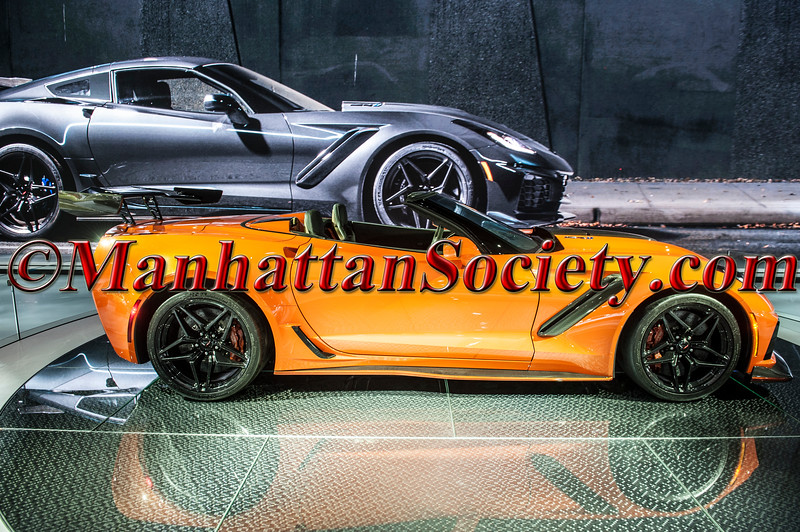 NEW YORK - MARCH 29:  Atmosphere at 2018 New York International Auto Show Gala Preview at the Jacob Javits Center on March 29, 2018 in New York City. (Photo by Gregory Partanio/ManhattanSociety)