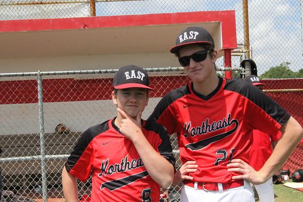 NE vs IRC Baseball Senior Day 4-21-18