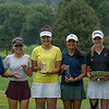 Age Group & Overall winners at the NYS Girls' Junior